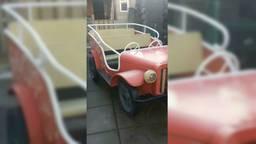 Het jeepkarretje waar het over gaat. (Foto: Maarten via Marktplaats)