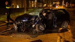 Er was geen ander verkeer bij het ongeluk in Willemstad betrokken. (Foto: Christian Traets)