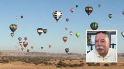 """""""We zijn hier een bezienswaardigheid"""", Hans is met zijn luchtballon in Saoedi-Arabië"""