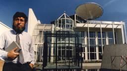Chriet Titulaer bij het Huis van de Toekomst in Rosmalen. (archieffoto: ANP)