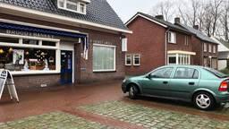 De groene Opel is opgehaald. (Foto: René van Hoof)