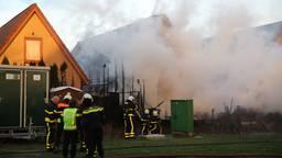 Grote uitslaande brand in huis Sint Willebrord. (foto: Christian Traets/SQ Vision Mediaprodukties).