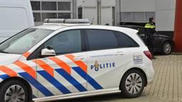 Bij een bedrijf aan de Van de Reijtstraat in Breda is zondagochtend rond half negen een ramkraak gepleegd. Foto: Perry Roovers