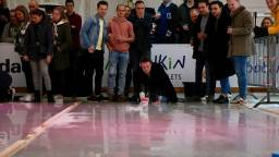 Bierpul Curling in Son en Breugel (foto's: Lobke Kapteijns).