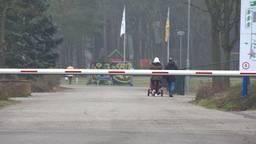 Het azc in Budel (foto: Omroep Brabant)