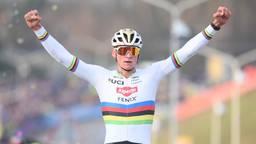 Mathieu van der Poel wint in Hoogerheide (Foto: Hollandse Hoogte, Belga  Photo David Stockman)