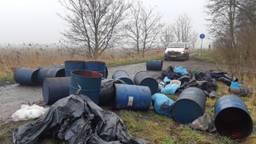 De dumping in Zevenbergen (foto: politie)