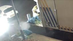 Na stankoverlast haalde de politie 100 wietplanten van een zolder in Terheijden.