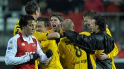 NAC won in 2009 bij AZ (foto: HollandseHoogte).