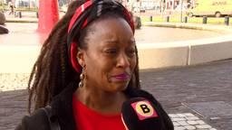 Marleen van Boxel in tranen na de uitspraak. (foto: Raymond Merkx).