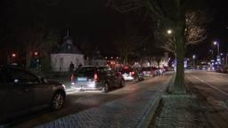De taxistandplaats aan de Prinsenkade.