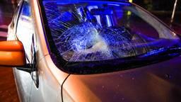 Voetganger geschept op zebrapad in Heeze. (Foto: Dave Hendriks / SQ Vision Mediaprodukties)