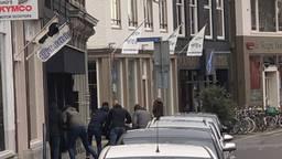 Bij de vecht- en steekpartij in Breda raakte een man flink gewond (foto: de politie).