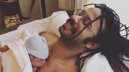Vader Gullie met zijn dochter Yuna