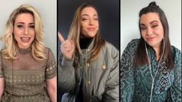 Amy, Lisa en Shelley van OG3NE nemen nieuwe single 'Kinda Wanna' thuis op de bank op
