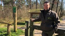 Boswachter Erik de Jonge gaat dit weekend extra controleren (foto: Erik Peeters).