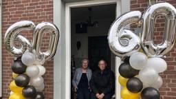 Pieta en Jos in de voordeur (Foto: René van Hoof)