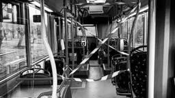 De lege bus van Raymond (foto: Raymond Woning)