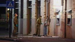Grote schade na een plofkraak in Uden (foto: Gabor Heeres/SQ Vision).