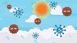 Verdwijnt het coronavirus als het warmer wordt?