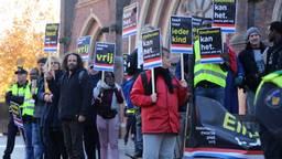 Demonstratie tegen Zwarte Piet in 2018. (foto: archief)