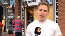 Jasper Toemen ging achter de ramkrakers aan.