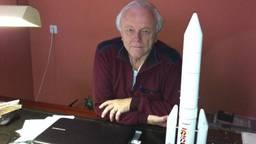 Ruimtevaartdeskundige Piet Smolders. (Archieffoto: Omroep Brabant)