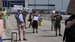 De demonstratie in Boxtel afgelopen vrijdag. (archieffoto: Sander van Gils/SQ Vision Mediaprodukties)