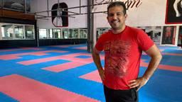 Ali Gunyar van kickboksschool All Fit Gym.