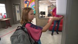 Lieke gaat voor het eerst naar de middelbare school.