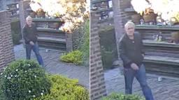 De politie zoekt deze man vanwege de diefstallen (foto: politie).