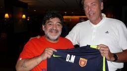 De enige echte Maradona in Mierlo in 2017.