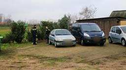 De politie deed onderzoek (foto: SQ Vision Mediaprodukties).