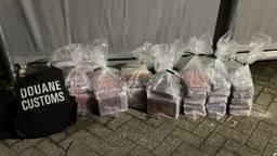 De drugsvondst (foto: douane)