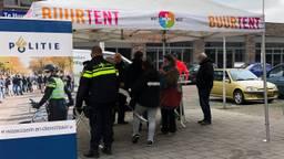De Buurtent staat op het Paletplein in Tilburg.