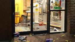 De Jumbo werd vernield en geplunderd (foto: Omroep Brabant).