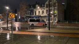 Rustig in Tilburg na het ingaan van de avondklok (foto: Ilse Schoenmakers).