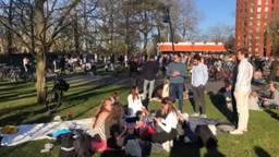 In Park Valkenberg in Breda was het druk.