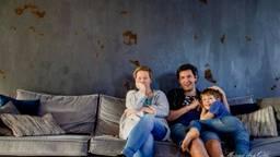 Moniek en haar gezin in lockdown (foto: Moniek van Gils).