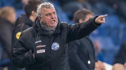 Wiljan Vloet als voetbaltrainer.