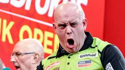 Michael van Gerwen won in 2020 het UK Open (foto: OrangePictures).