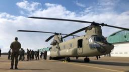 De nieuwste Chinook is geland (Foto: Willem-Jan Joachems)