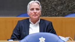 Hans Smolders in de Tweede Kamer (foto: ANP 2021/Peter Hilz).