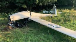 Het verongelukte vliegtuig (foto: Onderzoeksraad voor Veiligheid).