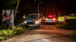De politie had het druk met feestende lui (foto: Toby de Kort/SQ Vision).
