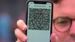 Internationale QR-code in de CoronaCheck-app.