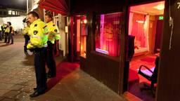 Actie tegen mensenhandel in Den Haag (foto ANP/Martijn Beekman)