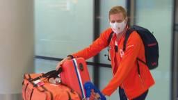 Bas Verwijlen komt zonder medaille terug in Nederland.