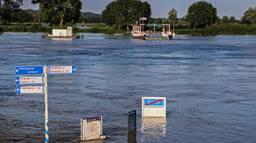 Hoogwater bij Cuijk (Foto: Steffi Burgers).