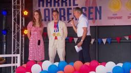 De huldiging van Harrie Lavreysen in Luyksgestel.